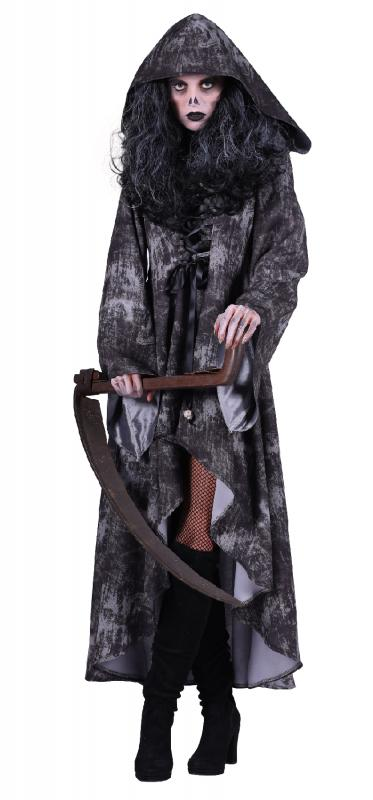 Walking Dead Girl d'Horreur Zombie Zombie Zombie Gothique Costume Femmeteau Robe Smoking Blanc Cape Capuche 5a4a71