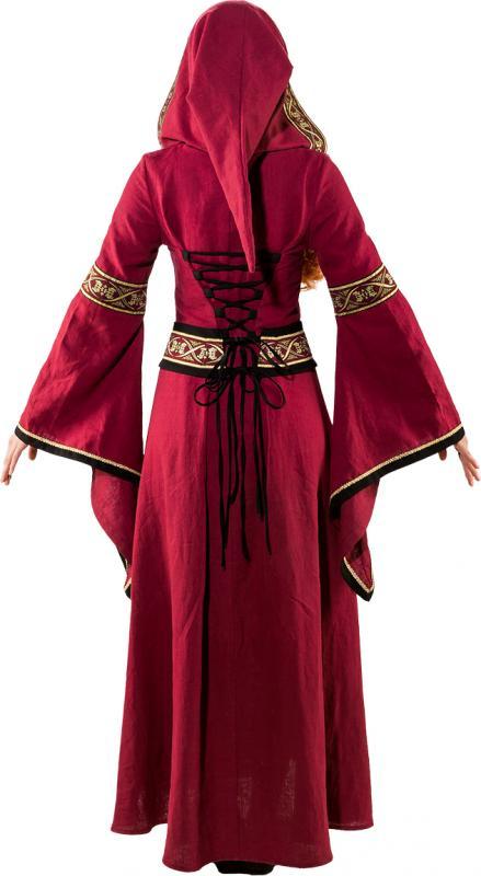 hofdame magd kostüm kleid dame mittelalter barock