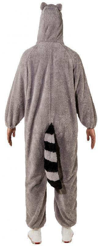 Waschbär Bär Kostüm Weste Overall Kleid Waschbärkostüm Waschbäroverall Eisbär