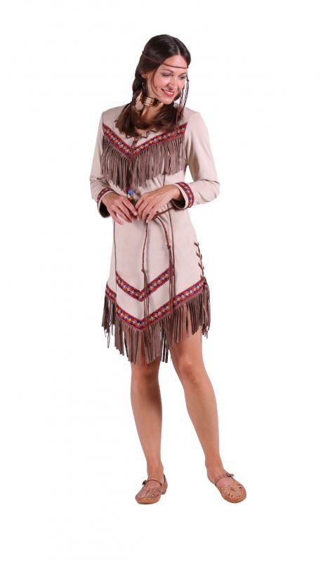 Indexbild 3 - Indianer Apache Siox Indianerkleid Indianerkostüm Kostüm Häuptling Kleid Anzug