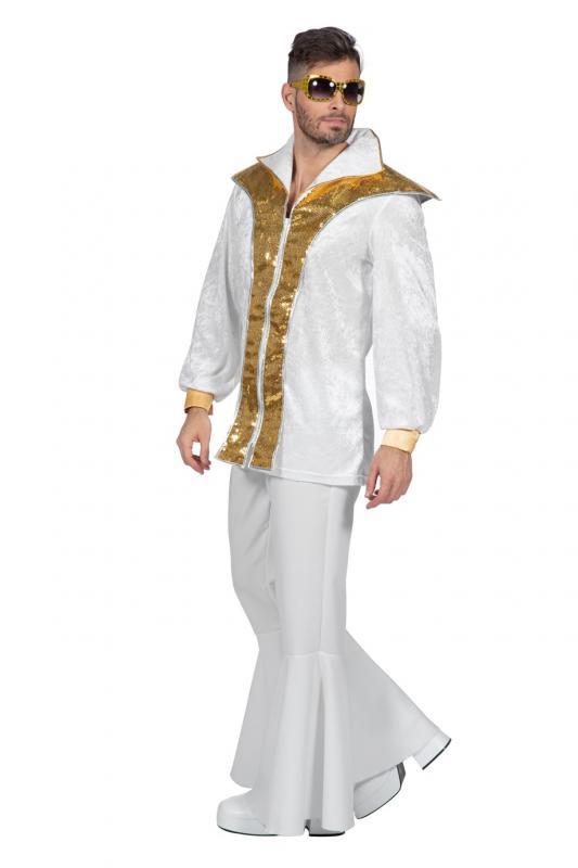 Indexbild 3 - 70er 80er Jahre Kostüm Hippie Anzug Disco Party Kleid Schlagerstar Dancing King