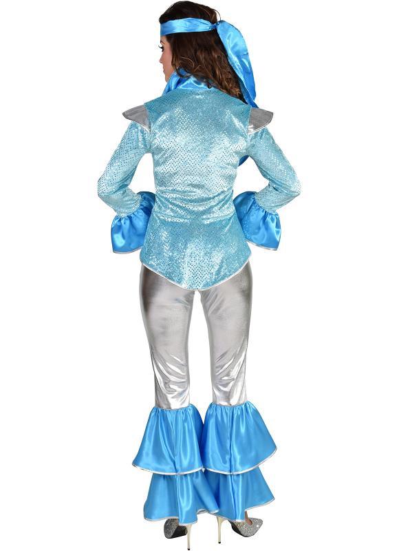 Disco King Dancing Queen Anzug Kostüm Overall Party Rocker Kiss Space Punker Hut