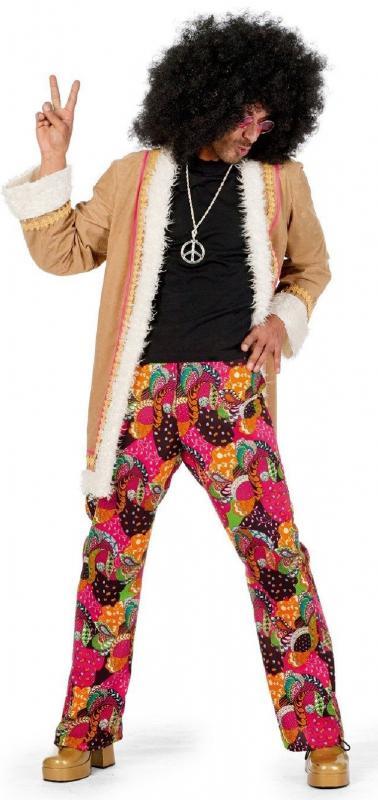 hippiekost m 70er 80er jahre anzug kost m flowerpower herren hippie party disco ebay