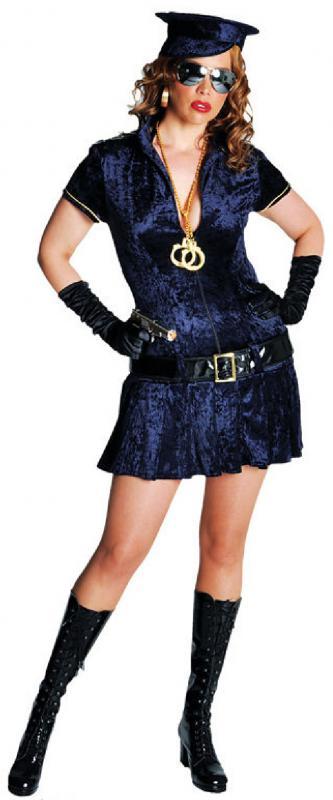 polizist sexy polizistin polizei kost m kleid uniform damen polizeikost m fbi ebay. Black Bedroom Furniture Sets. Home Design Ideas