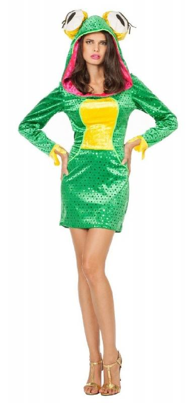 Froschkonigin Kleid Kostum Froschkonig Frosch Damen Froschkleid