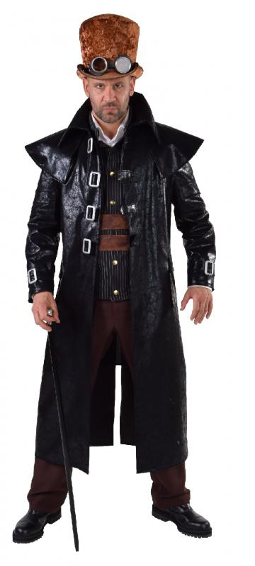 Gothic steampunk mantel