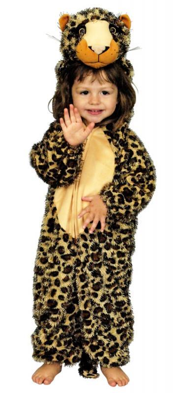 leopardenkost m leopard kinder kost m overall pl sch tiger. Black Bedroom Furniture Sets. Home Design Ideas