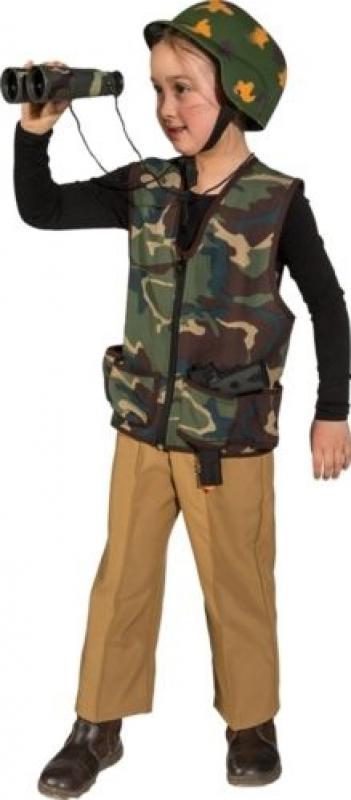 Indexbild 4 - Soldat Soldaten Helm Rambo Armee Uniform Kostüm Tarnanzug Militär Soldatenhelm