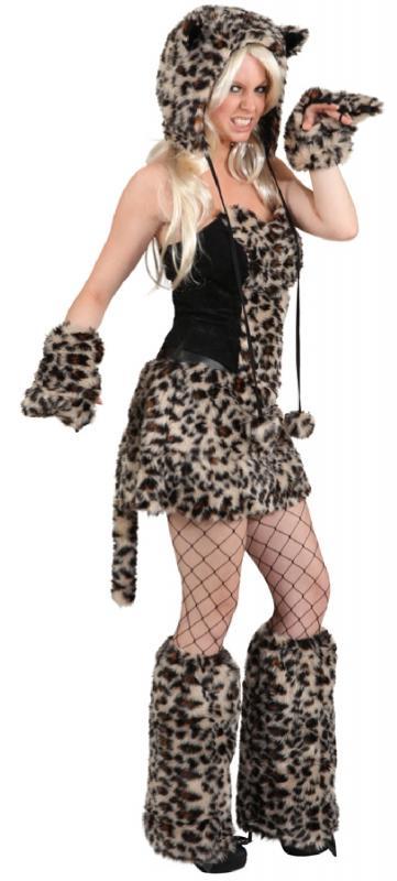 eisb r katzen panda b r damen kost m katze katzenkost m leopard tiger zebra sexy o9746 40 42 a. Black Bedroom Furniture Sets. Home Design Ideas