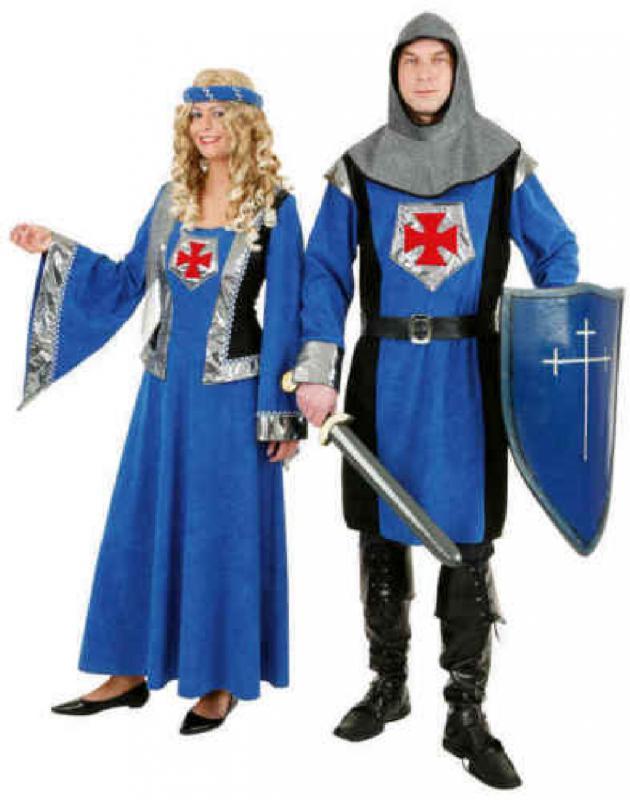 Croix Chevalier Costume Robe Tunique Femmes Moyen âge ritterdame ritterdame ritterdame Damoiselle Casque 8e431b