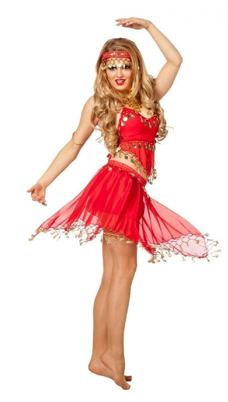 Haremsdame 1001 Nuit Robe Costume Femmes Bollywood Orient Princesse Danse du ventre