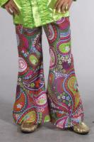 M207027-110-116-A Kinder Hippie-Party Hose Schlaghose Gr.116